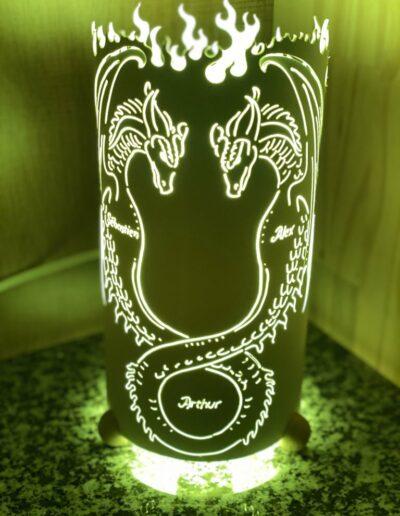 134 Lampes Personnalisées